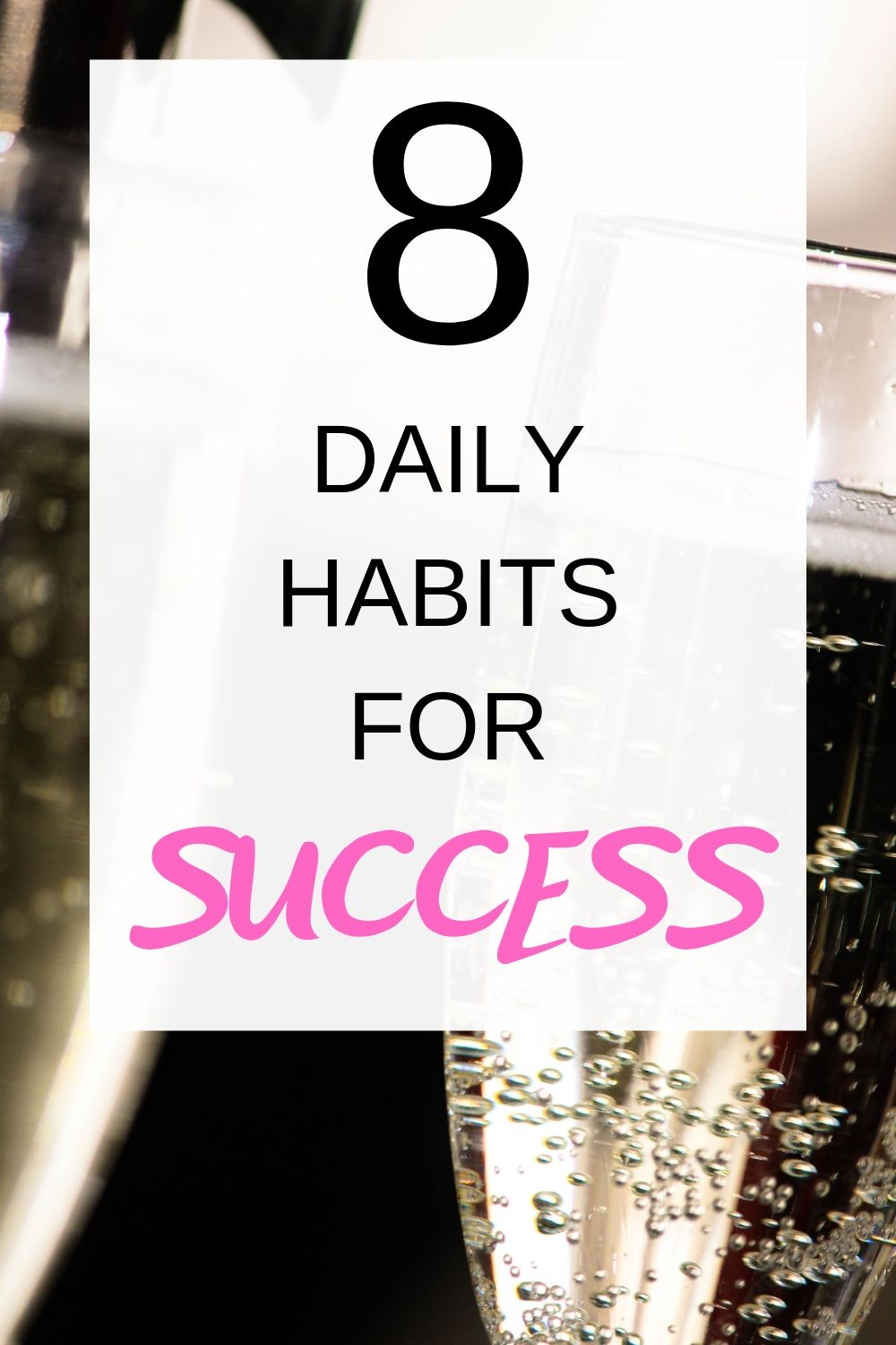 This is a great list of 8 simple habits you can adopt that will help you be more successful. Number 4 makes a big difference.