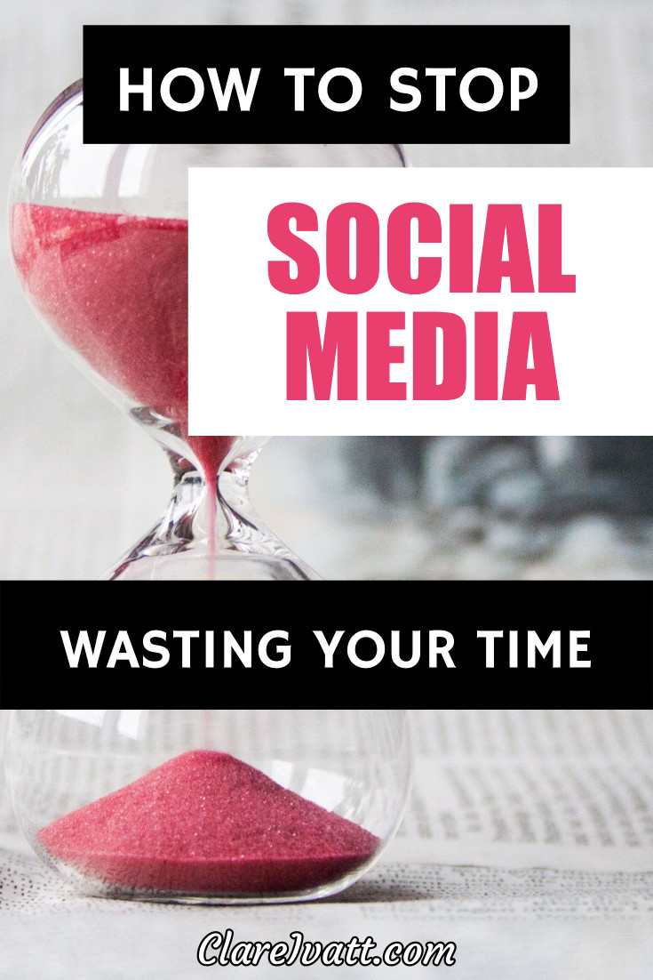 Great tips for getting the most from social media without allowing it to waste your time.